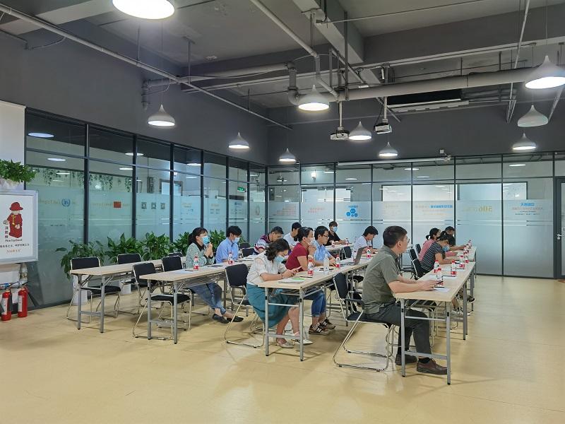 """9.10- """"校企行""""专场系列第七讲《国际合同签署与变更》培训活动在普天电子城孵化器成功举办2.jpg"""